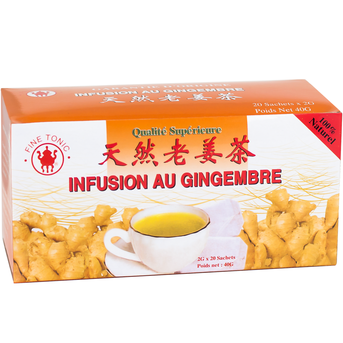 Infusion au Gingembre Image