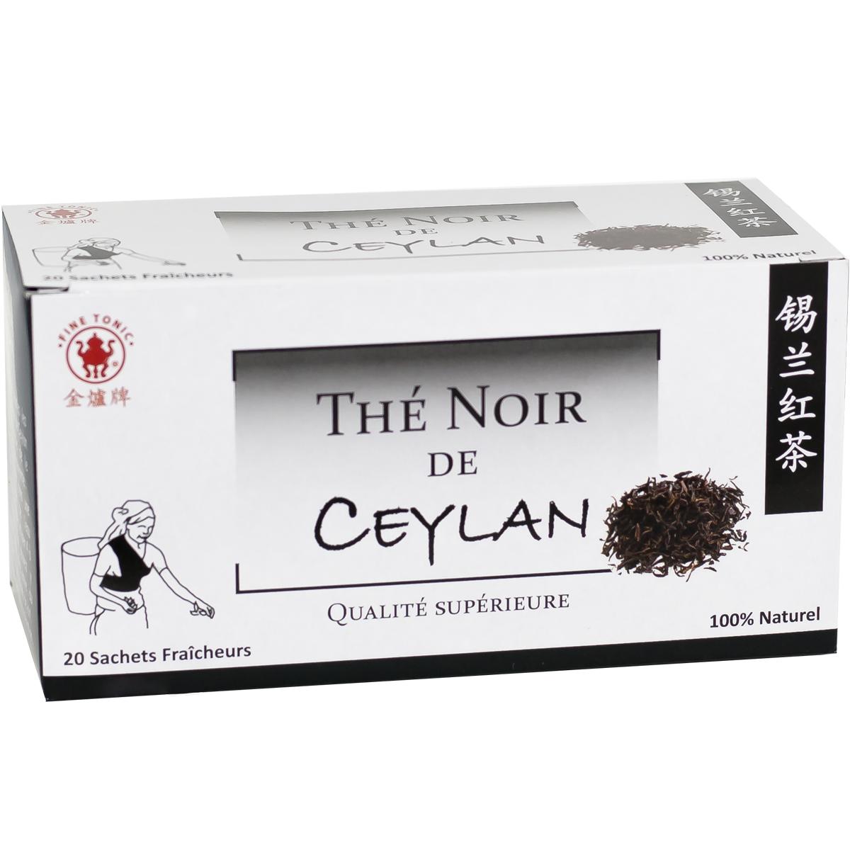 Thé noir de Ceylan - Qualité Supérieure Image