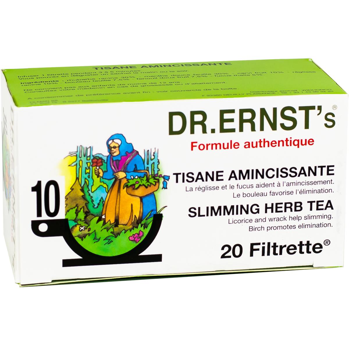 Les produits winhonco dr ernst 39 s n 10 formule for Tisane amincissante