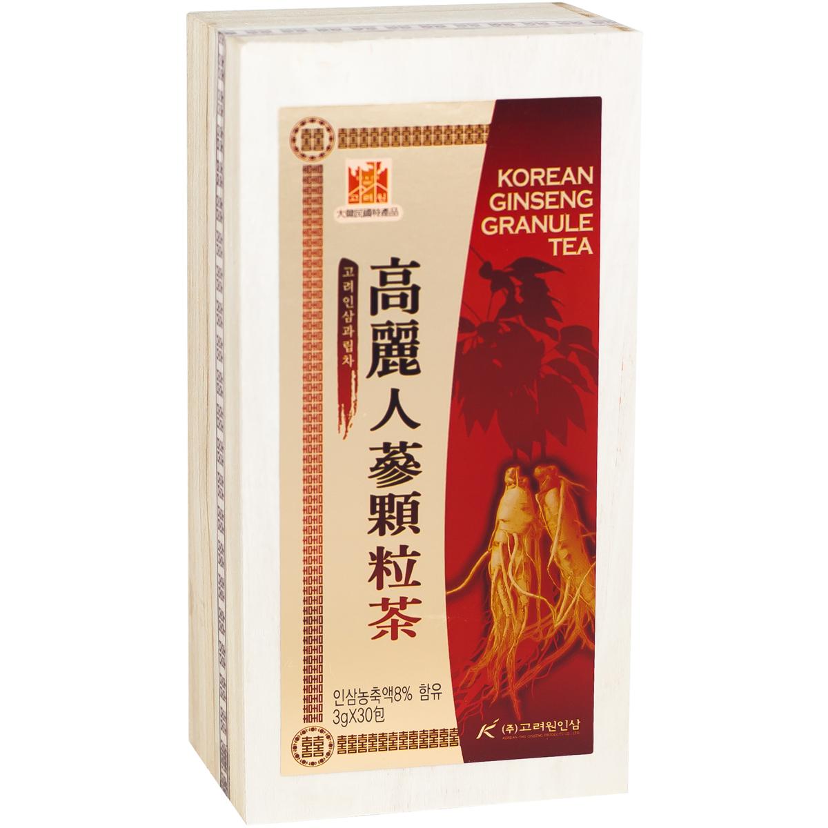 Infusion au Ginseng Coréen Image