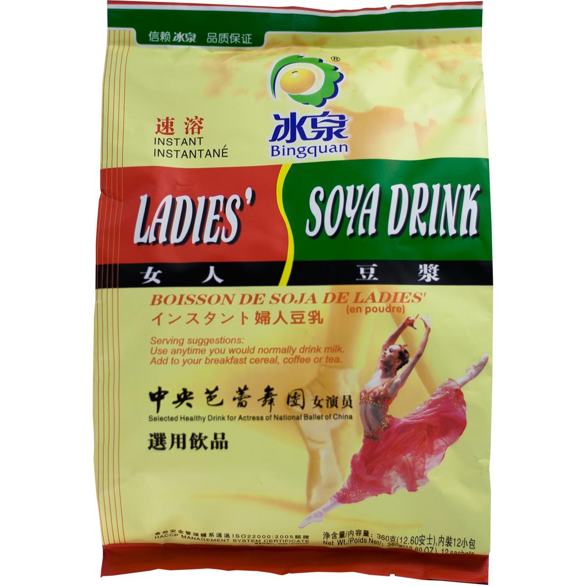Soja pour femme Instantanée Image