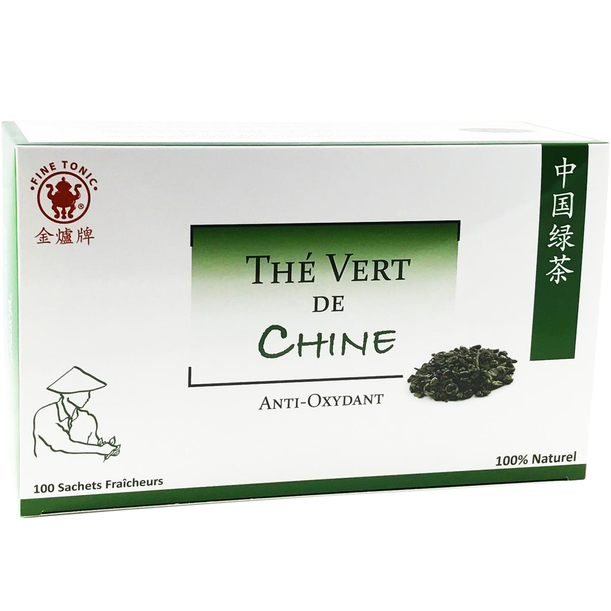 Thé vert de Chine (100 sachets) - Anti-Oxydant Image