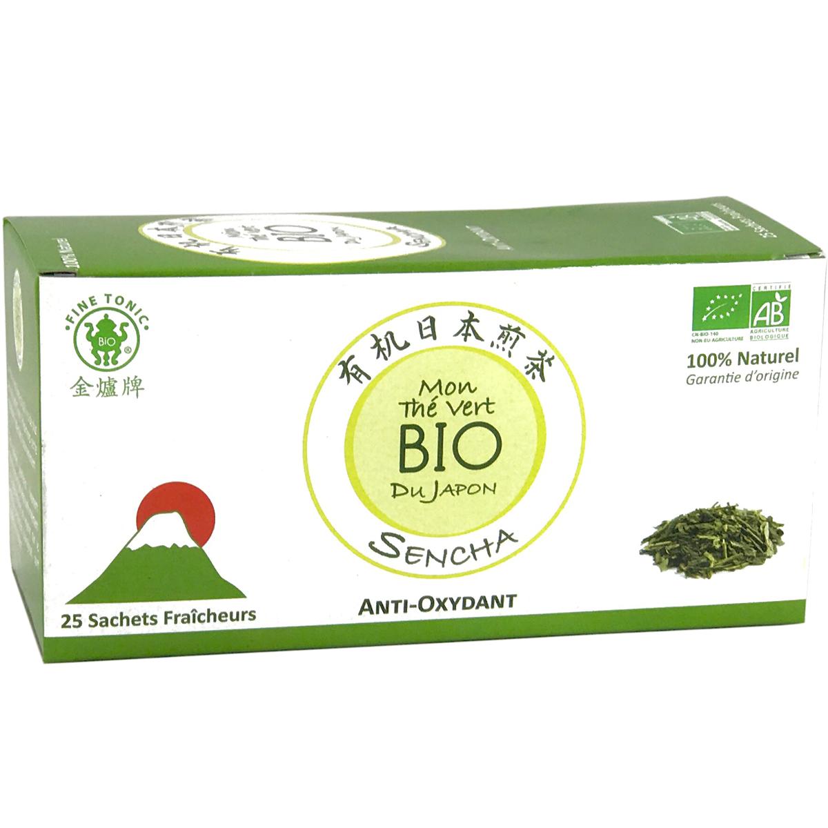 Mon thé vert Sencha BIO Image