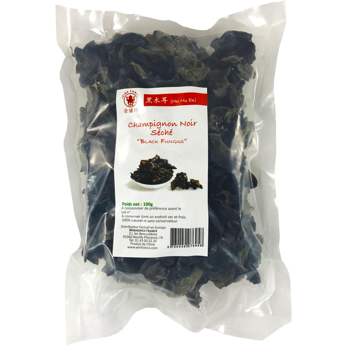 "Champignon Noir - ""Black Fungus"" Image"