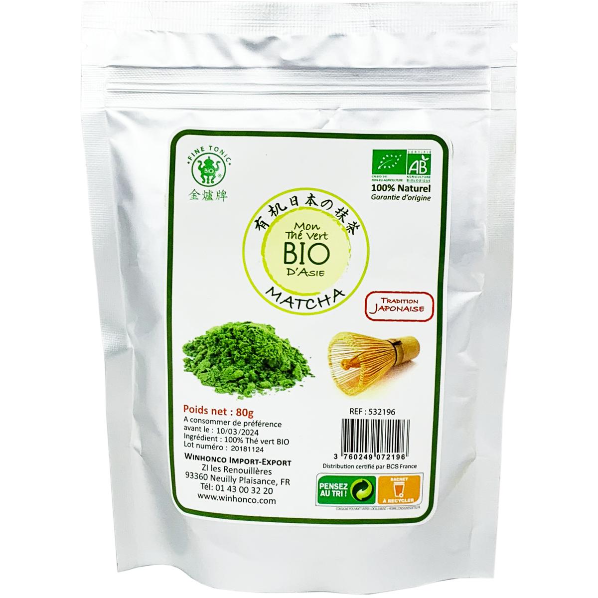 Mon thé vert Matcha BIO Image